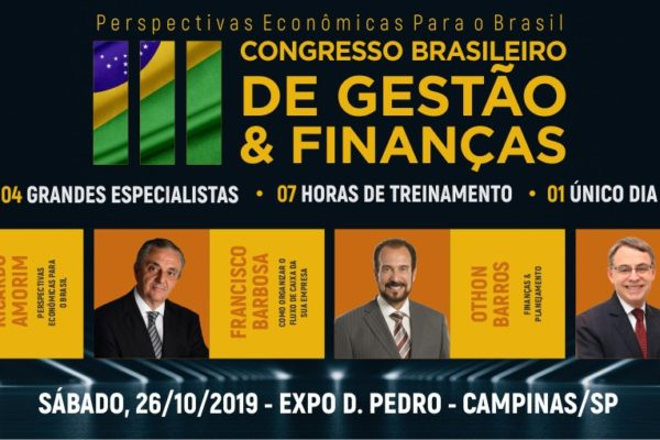 Congresso Brasileiro de Gestão e Finanças Campinas SP