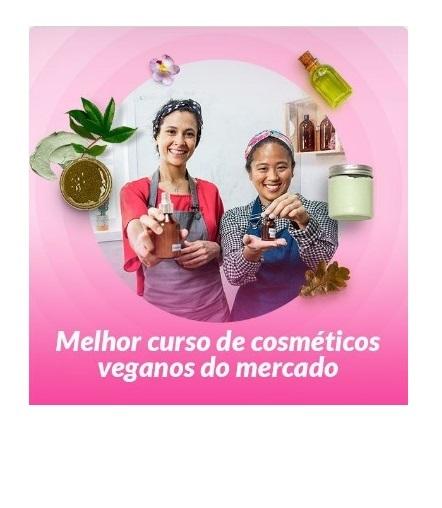 Curso Cosméticos Naturais Veganos com Daniella Kakazu e Luiza Monteiro Online